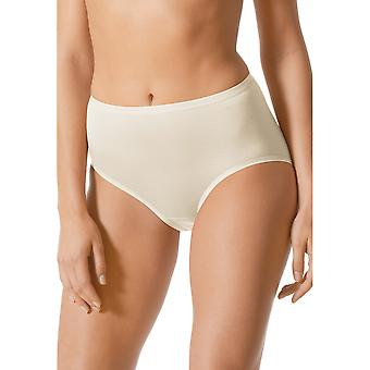 Mey 89203-20 Women's Pearl White Solid Colour Full Panty Highwaist Brief