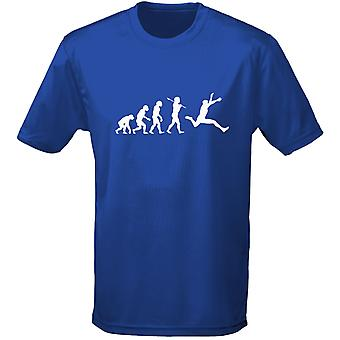 Athletics Evo Evolution Kids Unisex T-Shirt 8 Colours (XS-XL) by swagwear