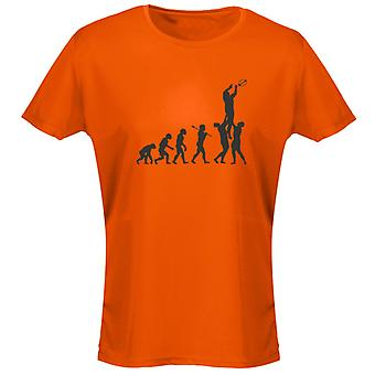Rugby Evo Evolution grappige Womens T-Shirt 8 kleuren door swagwear