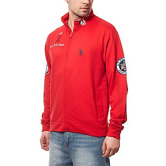 U.S. POLO ASSN. Men's sweatshirt sweater Red