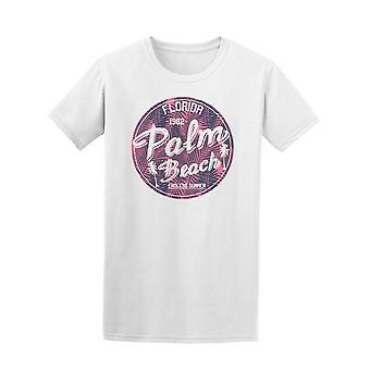 Florida Palm Surfers Beach Tee Men's -Image by Shutterstock
