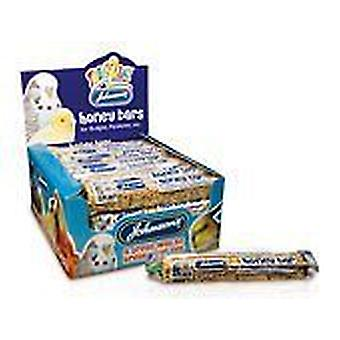 Johnsons Bird treat honey bars for budgies, pack of 10