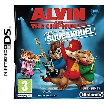 Alvin And The Chipmunks The Squeakuel (Nintendo DS) - Factory Sealed