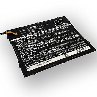 Batteri-batteri batteri til Samsung Galaxy tab A-10.1 T580 T585 batteri ACCU