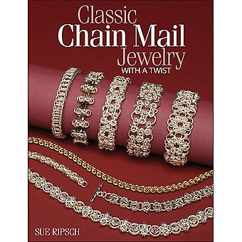 Kalmbach Publishing Books-Classic Chain Mail Jewelry With A Twist