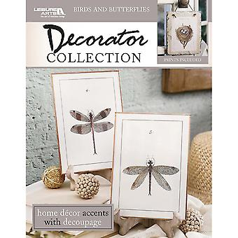 Leisure Arts-Birds & Butterflies Decorator Collection