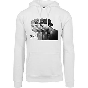 Merchcode X ARTISTS Hoody - 2Pac face white