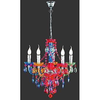 Trio Lighting Lüster Young Living Multicolor Acryl Chandelier
