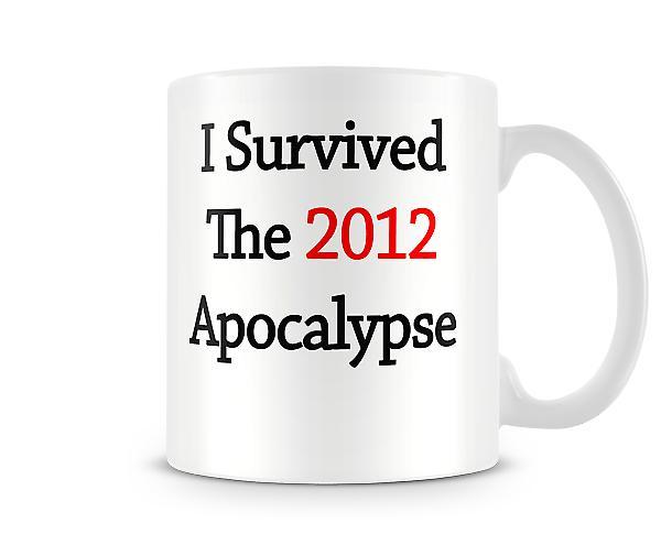 Apokalypse bedruckte Becher