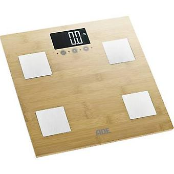 Smart bathroom scales ADE BA 914 Barbara Weight range=150 kg Bam