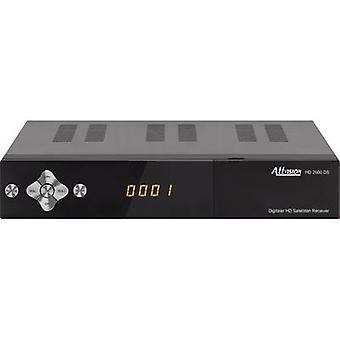 AllVision 2000 DS HD SAT-Receiver USB (vorne), einzige Kabelverteilung