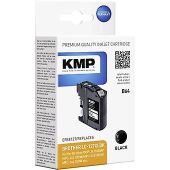 KMP Ink replaced Brother LC-127XLBK Compatible Bl