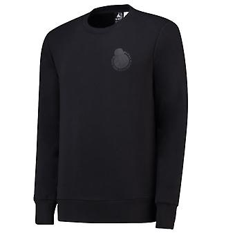 2018-2019 Real Madrid Adidas Graphic Sweatshirt (Black)
