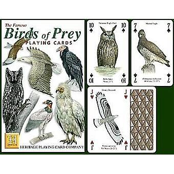 Oiseaux de proie jeu de 52 cartes à jouer (+ Jokers)