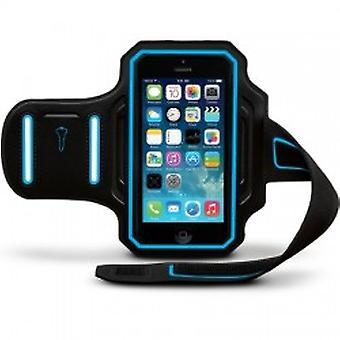 Body Glove Endurance Armband for Apple iPhone 6/6s (Black/Cyan)