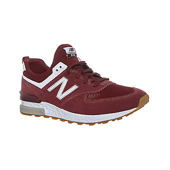 New balance ML574 mens of classic sneaker Red