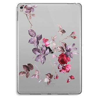 iPad Pro 9,7 inch Transparent Case (Soft) - Pretty flowers