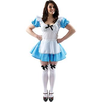 Adult Traditional Alice Fancy Dress Costume