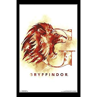 Harry Potter - Gryffindor Illustrated Poster Print