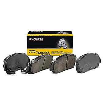 Akebono Performance ASP1080 Akebono Performance Ultra Premium Ceramic Disc Brake Pad Kit