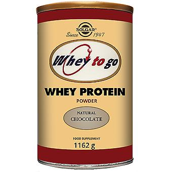 Solgar Whey To Go Protein Powder Chocolate (Sport , Muscle mass , Proteins)