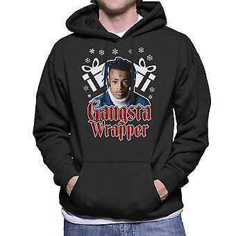 Gangsta Wrapper XXXTentacion Christmas Men's Hooded Sweatshirt