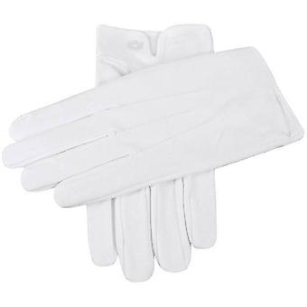 Hakk bomull ventilert hansker - hvit