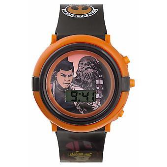 Star Wars Finn and Chewbacca Light-up Digital SWM3006 Watch