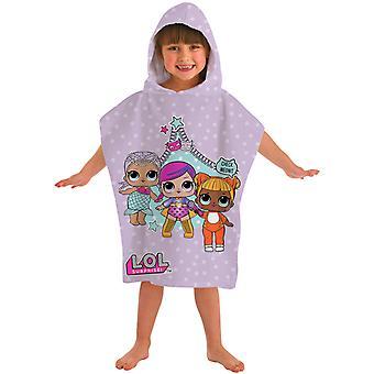 L.O.L. Surprise! Badponcho beach towel Poncho 115 * 50 cm
