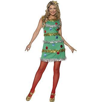 Weihnachtsbaum Kleid, UK Kleid 8-10