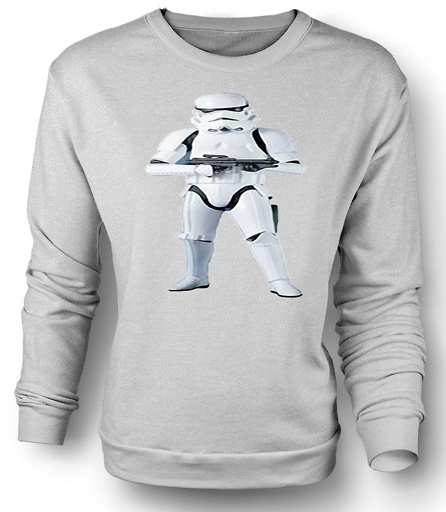 Mens Sweatshirt Star Wars - Storm Trooper - Movie