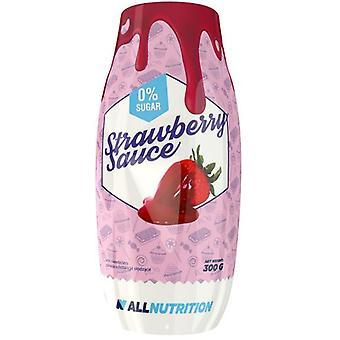 Allnutrition Strawberry Sauce 300 g (Sport , Food , Syrups & sauces)