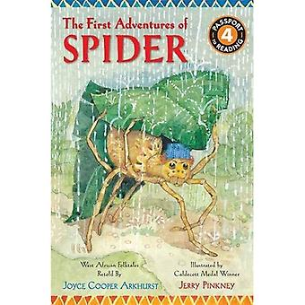The First Adventures of Spider: West African Folktales