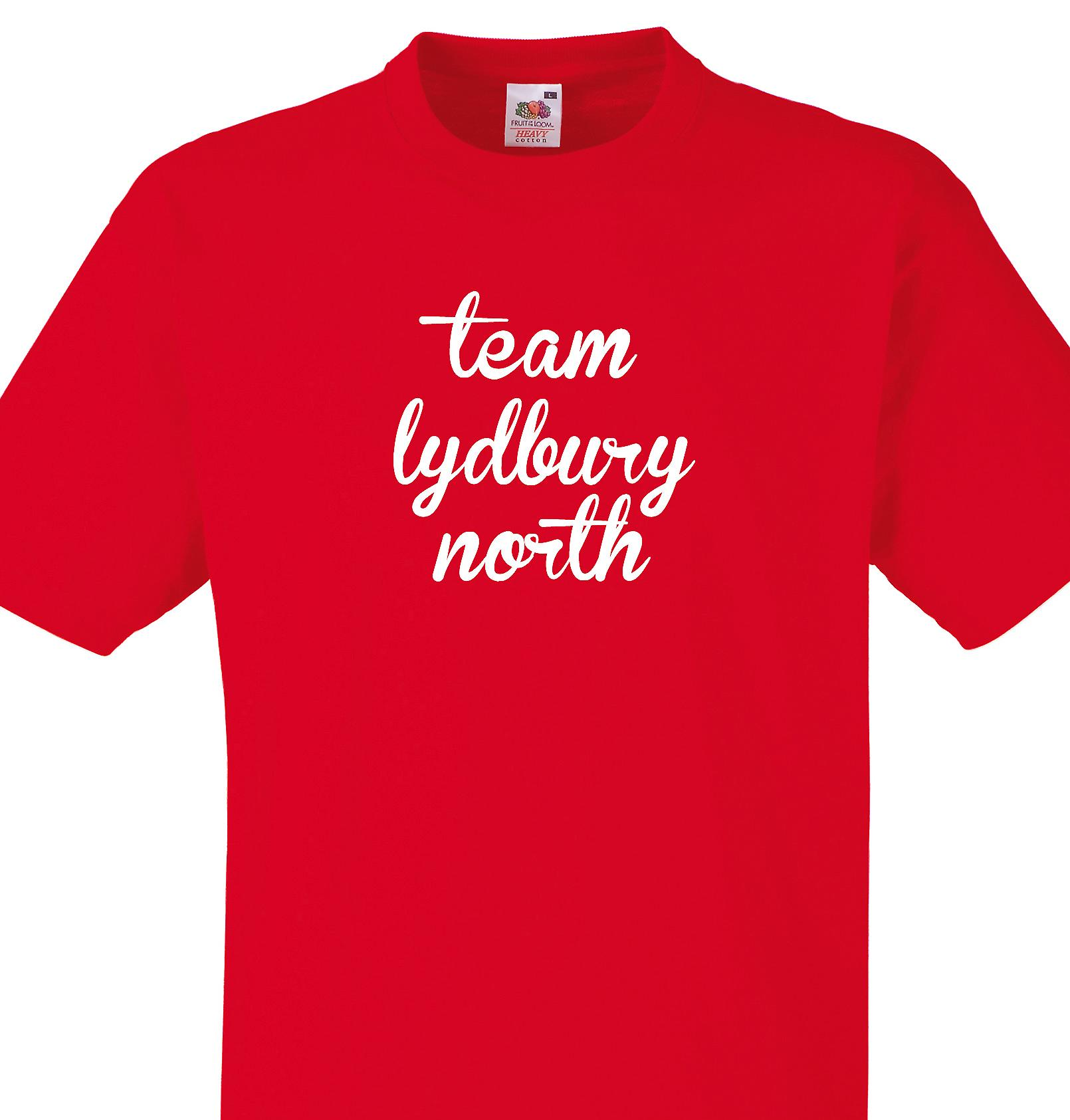 Team Lydbury north Red T shirt