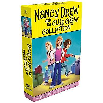 Colección del equipo de Nancy Drew y la pista: detectives de pasar la noche; Grito para el helado; Problemas de pony; El misterio del Ballet Cenicienta; Caso del hombre astuto
