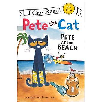 Pete på stranden