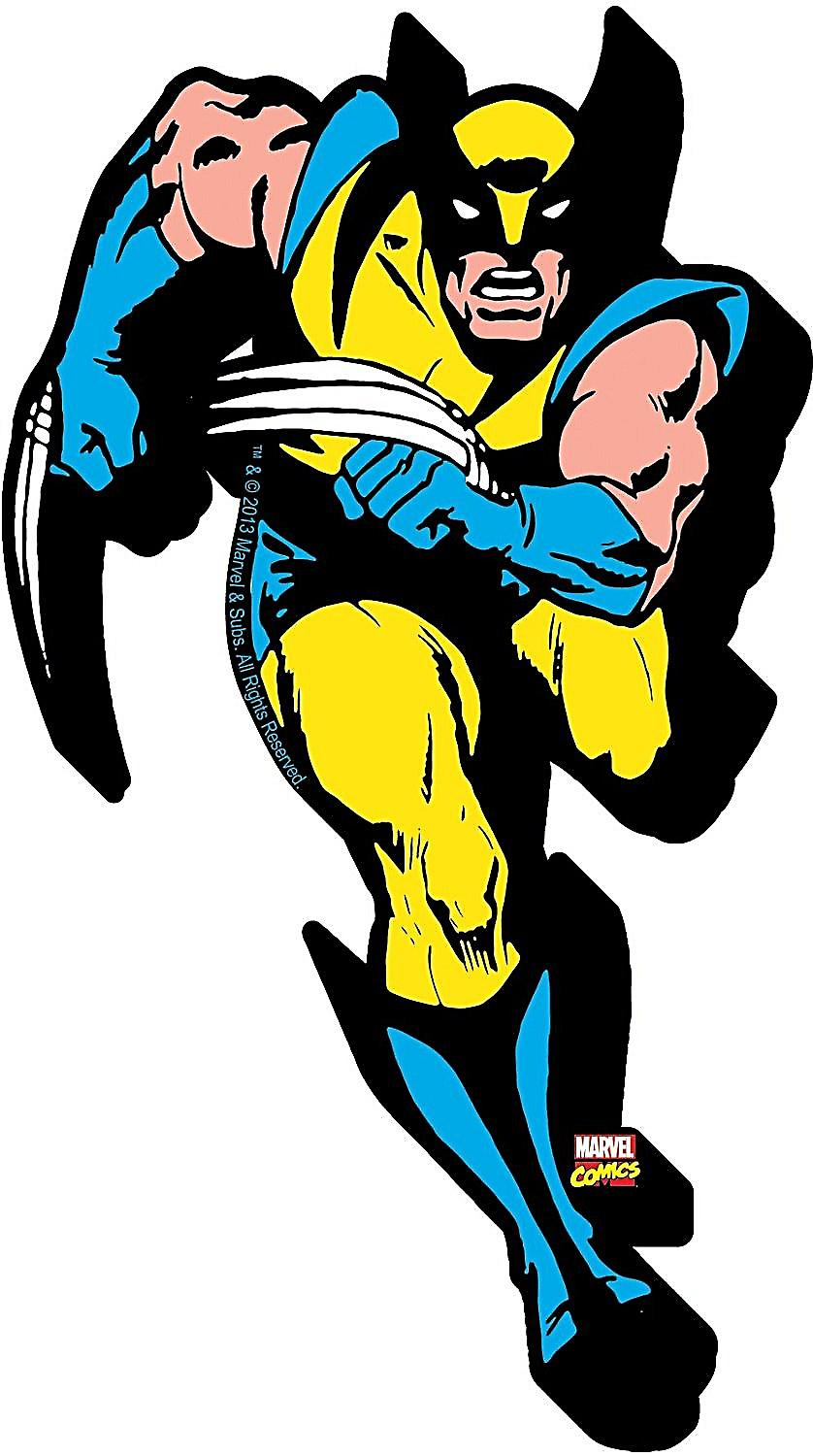 Wolverine chunky thick fridge magnet    (nm)