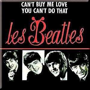 Beatles Can't Buy Me.. (foreign cover) fridge magnet