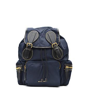 Burberry Blue Nylon Backpack