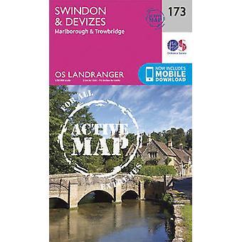 Swindon - Devizes - Marlborough & Trowbridge (February 2016 ed) by Or
