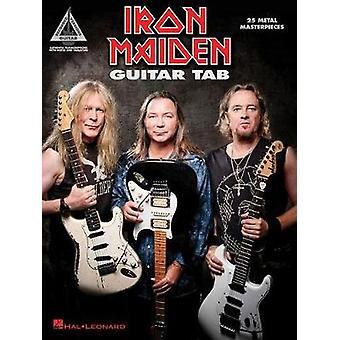 Iron Maiden - Guitar Tab - 25 Metal Masterpieces - 9781495078033 Book