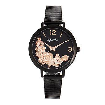 Sophie and Freda Lexington Bracelet Watch - Black