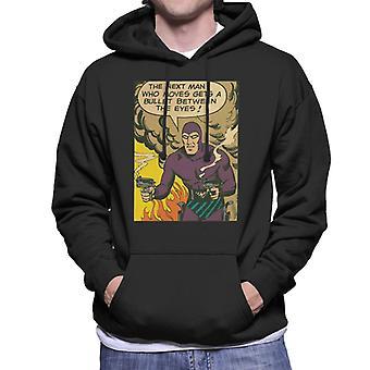 The Phantom Bullet Between The Eyes Men's Hooded Sweatshirt