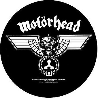 Motorhead Hammered large round sew-on back patch 280mm diameter  (ro)