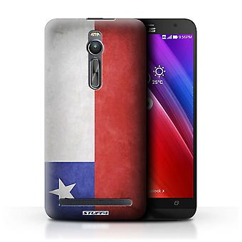 STUFF4 Case/Cover for Asus Zenfone 2 ZE550ML/Chile/Chiliean/Flags