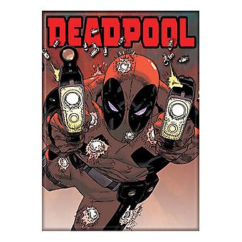 Deadpool Comic Magnet