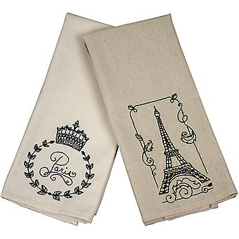 French Market Tea Towel 40 Count 15