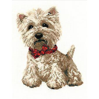 West Highland White Counted Cross Stitch Kit 8