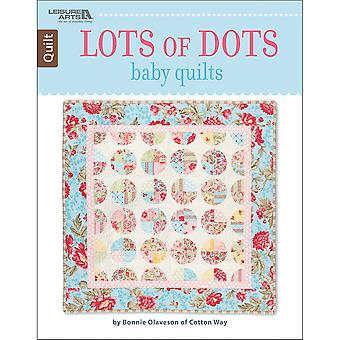 Leisure Arts-Lots Of Dots Baby Quilt LA-6757