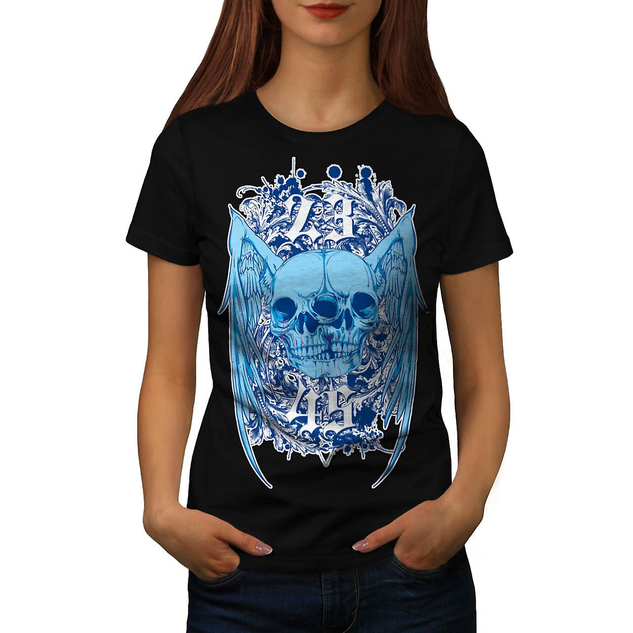 23 Years Horror Skull Joint Monster Women Black T-shirt | Wellcoda